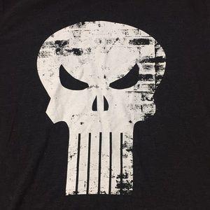 The punisher marvel comics long sleeve T-shirt